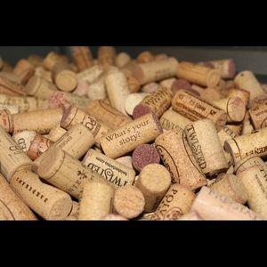 300+ Used Wine Corks